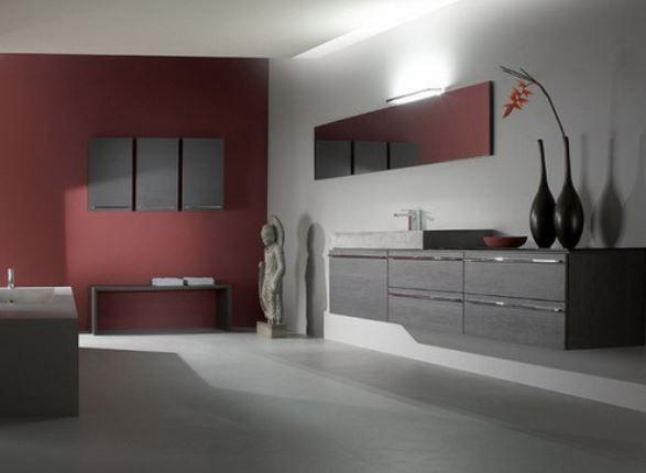 arredo bagno color marsala: la novità 2015 | arredare bagno - Arredo Bagno Marsala
